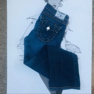 True Religion Becky Bootcut Jeans Old Town Road